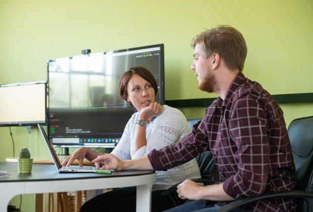 Website user-experience meeting