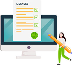 Alberon web licence management icon